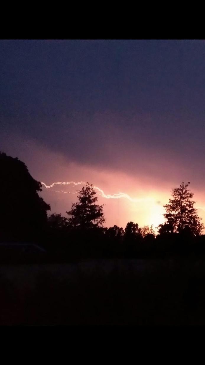 Foto gemaakt in Westenholte