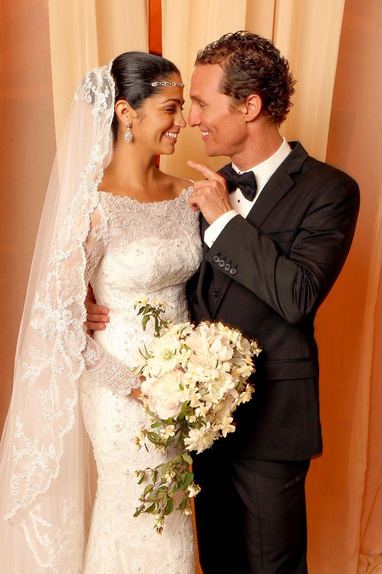 Matthew McCounaughey (49) wilde zijn Camila trouwden in 2012.