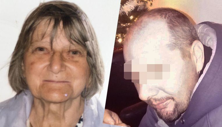 Slachtoffer Solange Hennaert (82) en haar zoon Frank P. (47).