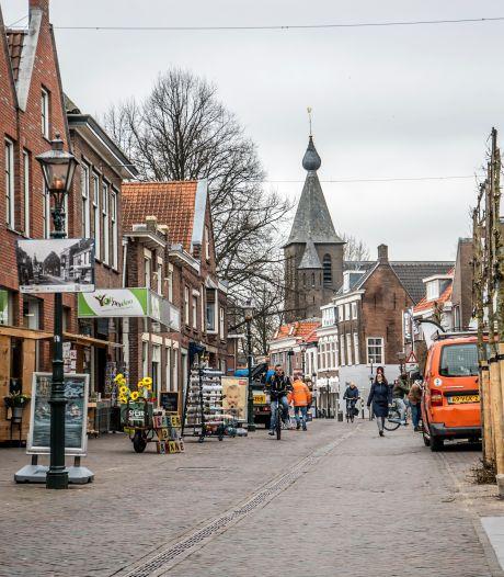 Fietsers vanaf 1 oktober op zondag weer welkom in Dorpsstraat