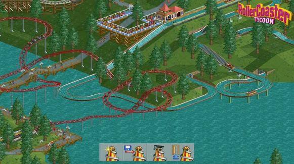 Beeld ter illustratie van 'Rollercoaster Tycoon'.