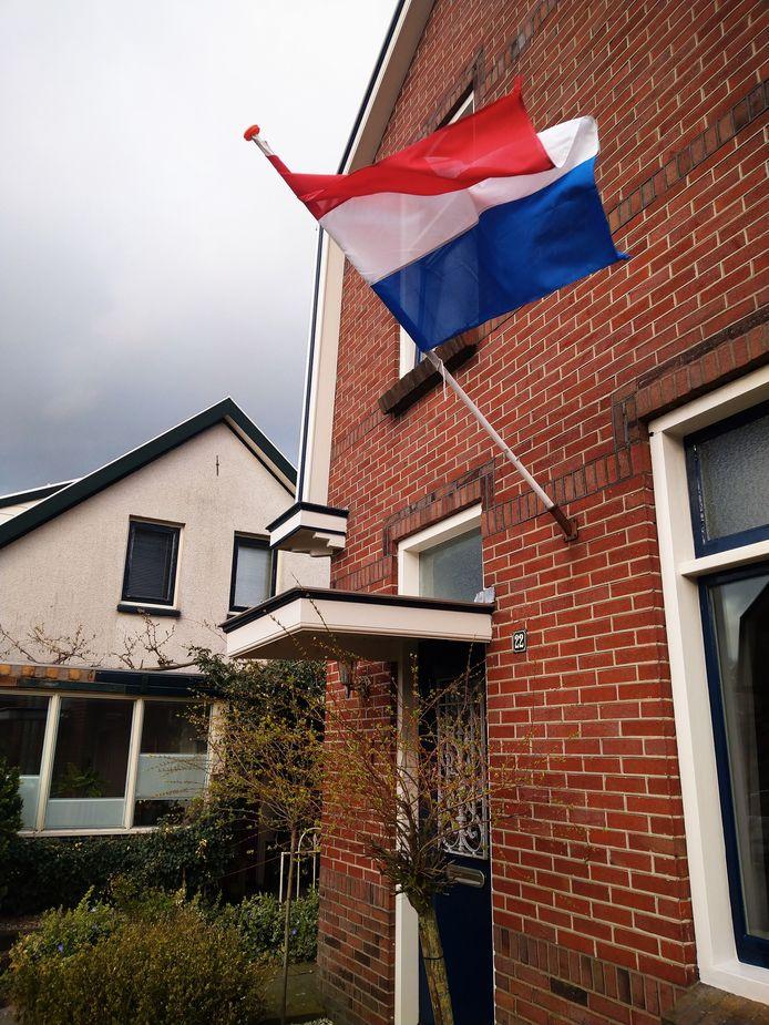 Aan de Damstraat in Aalten.