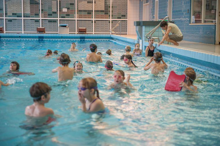 Het zwembad van Heist-op-den-Berg
