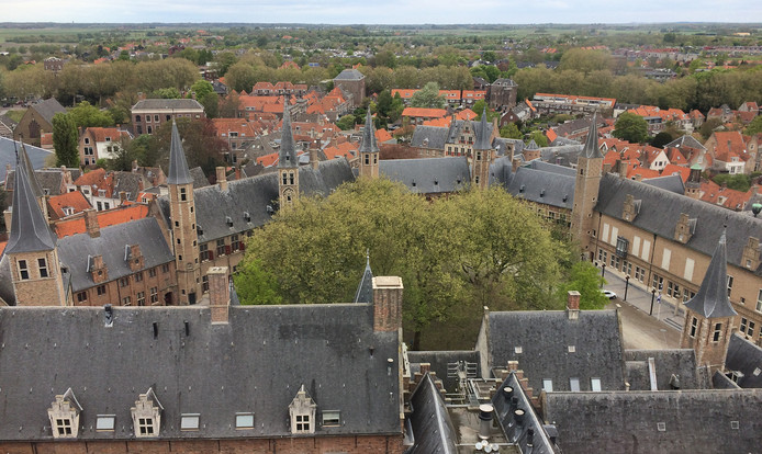 De Abdij in Middelburg.