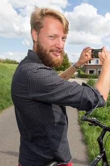 Bram fietste langs 166 Zeeuwse plaatsen