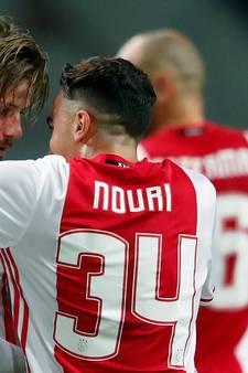 Nouri houdt rugnummer 34 bij Ajax