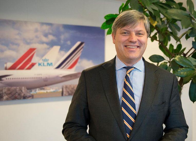 Marcel de Nooijer, de nieuwe topman van Air France-KLM Cargo Beeld AFKL CArgo