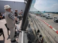 Actie tegen groei vliegverkeer bij Catharinakerk Eindhoven