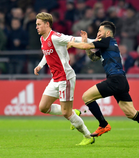 Willem II is de favoriete tegenstander van Ajax in de eredivisie