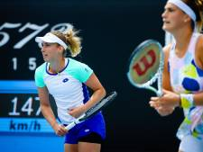 Elise Mertens battue en quarts de finale du double