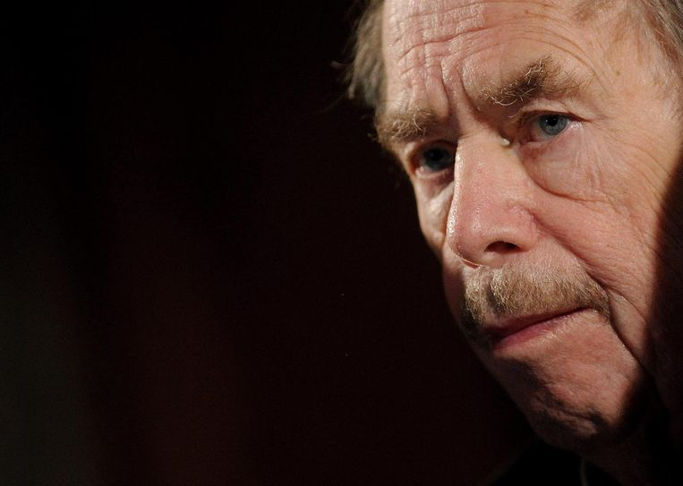 Václav Havel. Beeld EPA