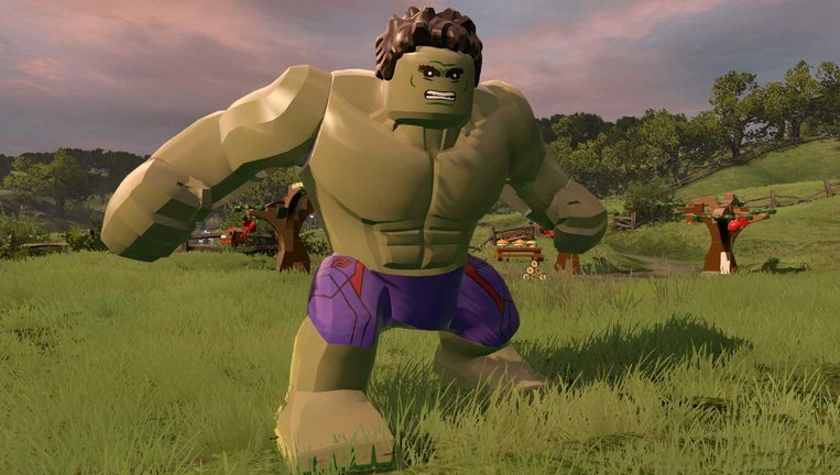De Hulk in LEGO Marvel Avengers. Beeld Traveller's Tale / Warner Bros