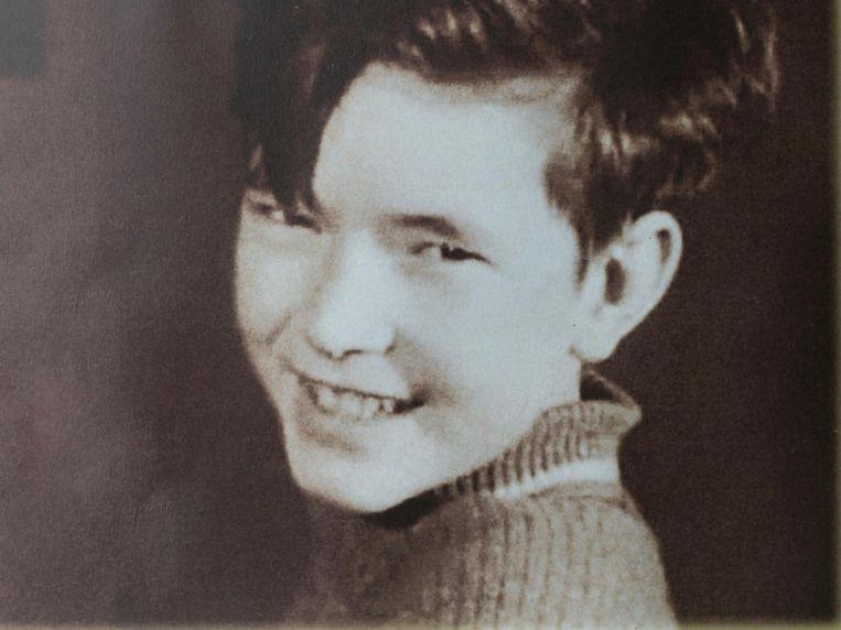 Een nog jonge Paul Haenen Beeld -