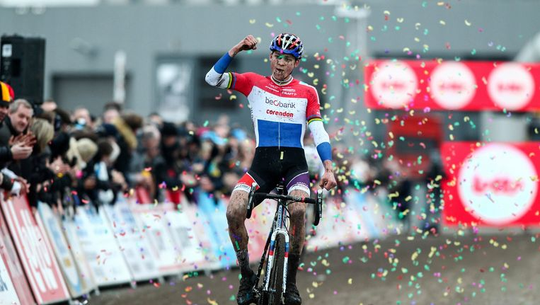 Mathieu Van der Poel is de huidige leider in de Superprestige.