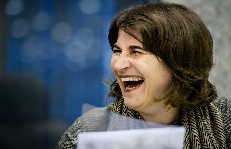 Minister Lilianne Ploumen in de Tweede Kamer. Beeld anp
