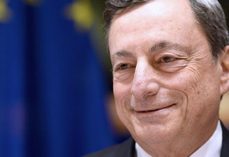 Mario Draghi. Beeld afp
