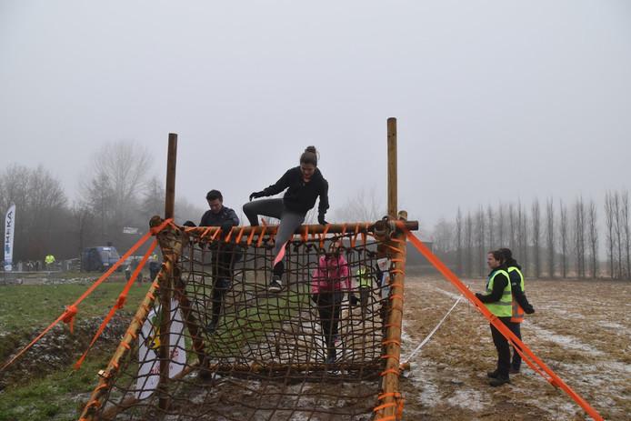 Een van de hindernissen vorig jaar tijdens de Obstacle Run