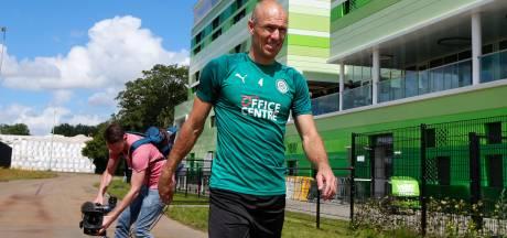 FC Groningen zet alsnog streep door Robben-rentree tegen PEC