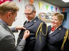 Brandweervrijwilliger Hans Meijerink koninklijk onderscheiden in Oldemarkt