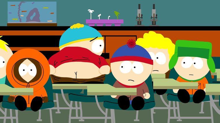 5. Tekenfilm: South Park. 'De simpele animatiestijl van die serie is uniek.' Beeld .