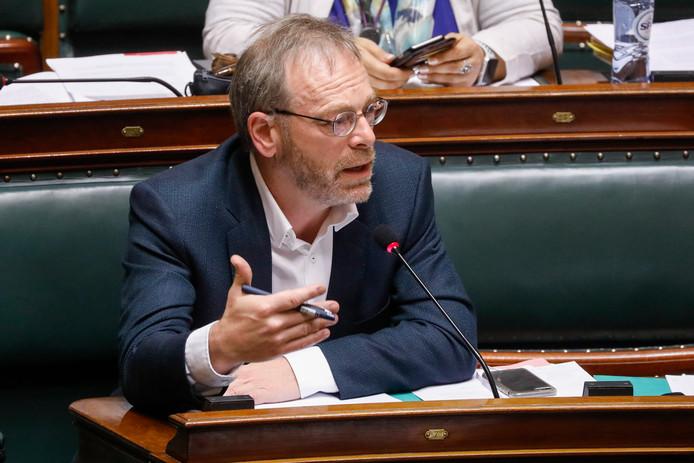 Le chef de groupe N-VA à la Chambre, Peter De Roover.