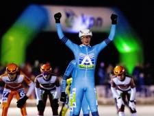 Schouten wint eerste marathon op natuurijs in Haaksbergen