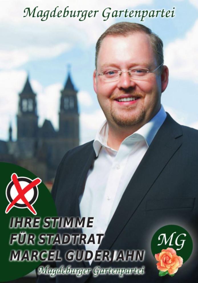 Tuinenpartij-voorman Marcel Guderjahn