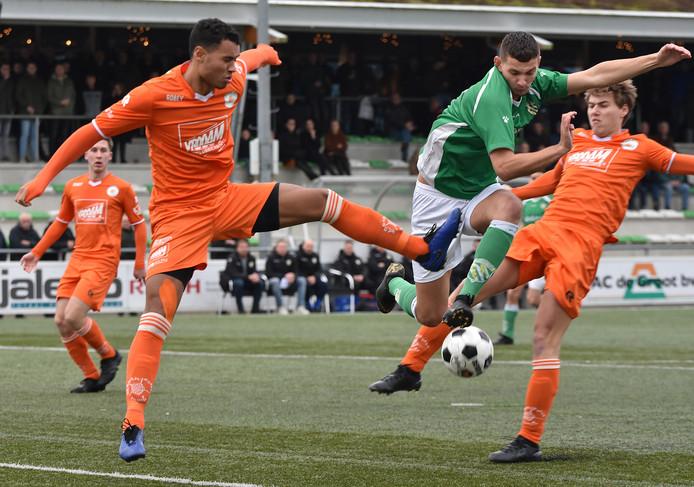 Nieuw-Lekkerland - Oranje Wit.