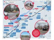 Oplossing voor spoorwegovergangen op de Veluwe (te) prijzig