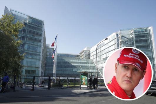 Michael Schumacher a été pris en charge à l'hôpital européen Georges-Pompidou à Paris