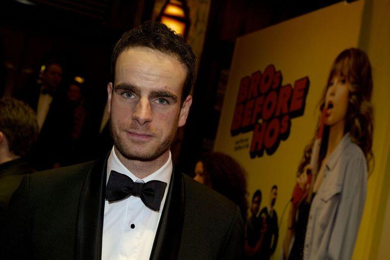 Castlid Henry van Loon voorafgaand aan de premiere van de speelfilm Bros before Hos in Tuschinski, 2013. Beeld anp