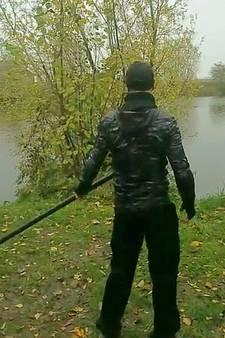 Ninja jaagt wandelaar stuipen op het lijf in Westdorpe