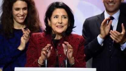 Georgië krijgt eerste vrouwelijke president