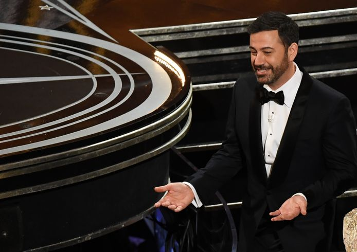 Jimmy Kimmel bij de uitreiking van de Oscars.