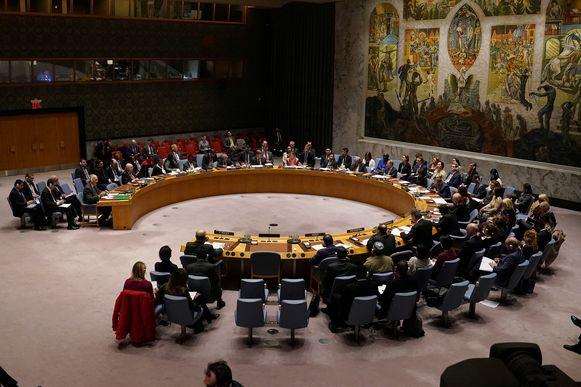 Archiefbeeld. De Veiligheidsraad van de Verenigde Naties.