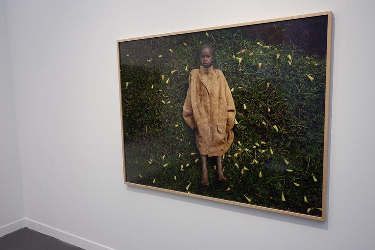 Kinderportret uit Rwanda van Pieter Hugo. Beeld Arno Haijtema