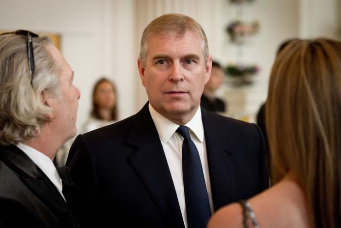 Le prince Andrew d'York.