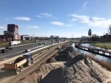 Werk aan afslag 's-Gravendeel A16 uitgesteld vanwege corona