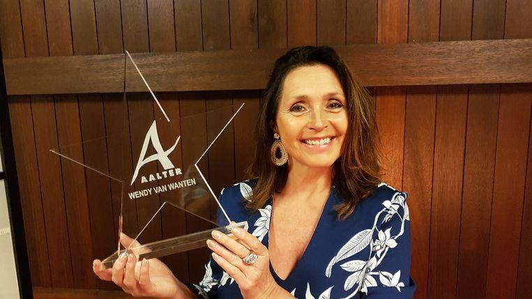 Wendy Van Wanten is trots op haar 'Ster van Aalter'