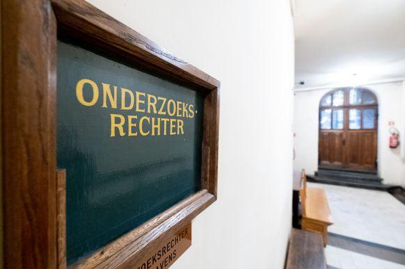 Het kabinet van de onderzoeksrechter in Mechelen.
