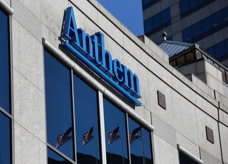 Het hoofdkantoor van verzekeringsmaatschappij Anthem in de stad Indianapolis.