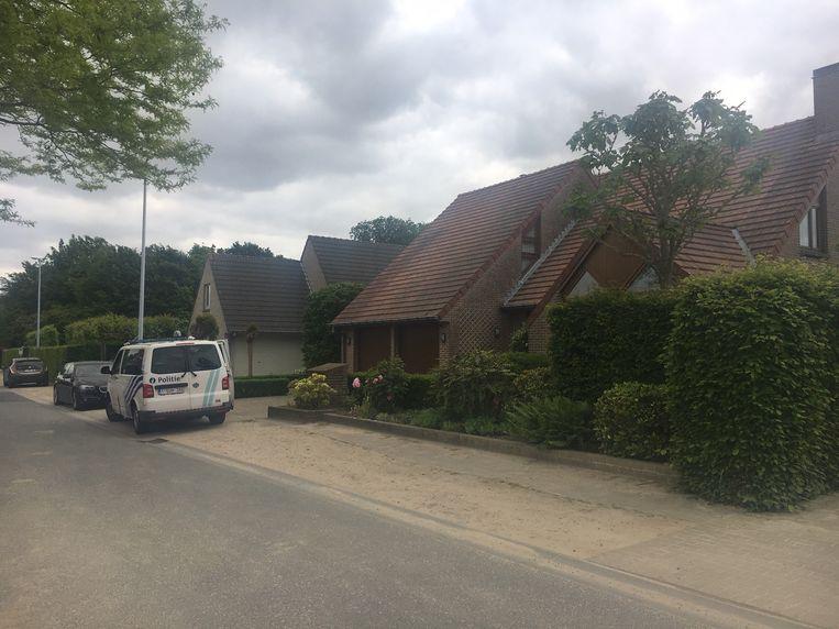 Politie en Dovo snelden naar de woning.