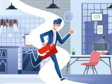 Weg van de keukentafel: vraag naar kleine kantoorruimte stijgt