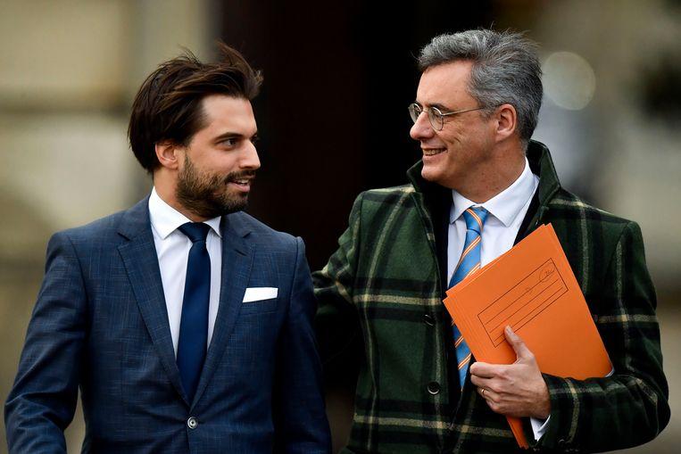 Georges-Louis Bouchez en Joachim Coens.