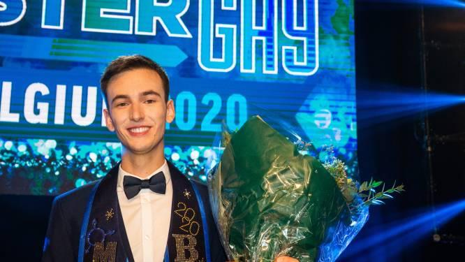 """Leuvenaar Joren Houtevels (20) gekroond tot Mister Gay Belgium: """"Zelf thuis weggegaan omdat ik me niet aanvaard voelde"""""""
