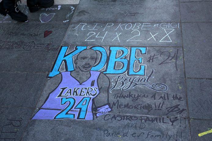 Een eerbetoon aan de overleden Kobe Bryant