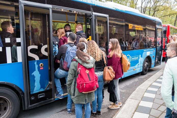 Een bus van Keolis/Syntus.