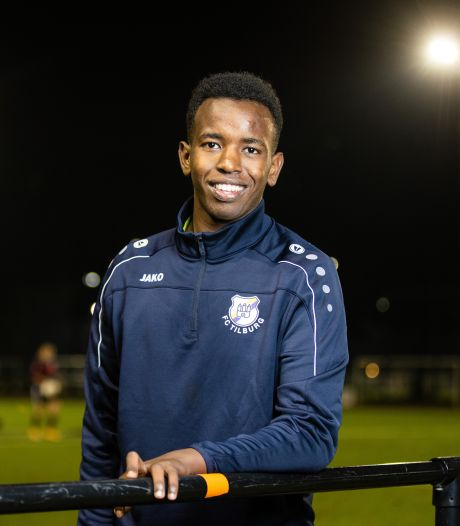 Oorlogsleed Kunil Abdirahman (16) is een gesloten boek, FC Tilburg is zijn nieuwe huis
