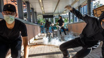 VS veroordelen geweld in Hongkong