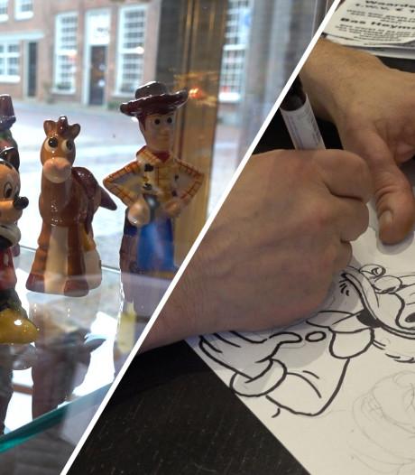 Disneyfans in de rij voor ontmoeting met stemacteurs en tekenaar